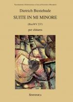 D. Buxtehude, Suite in Mi minore